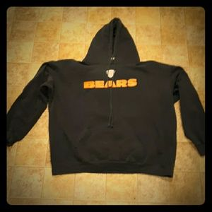 Reebok NFL Chicago Bears Football Hoodie. Size 2XL